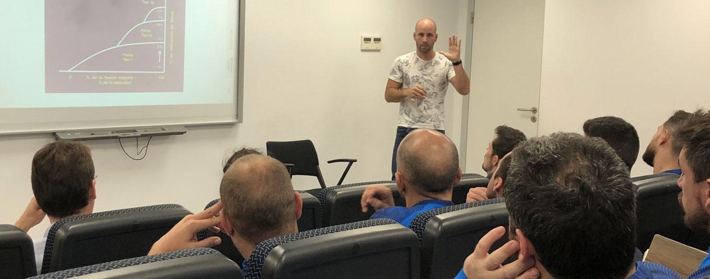 Josep Caballero fisioterapia formación