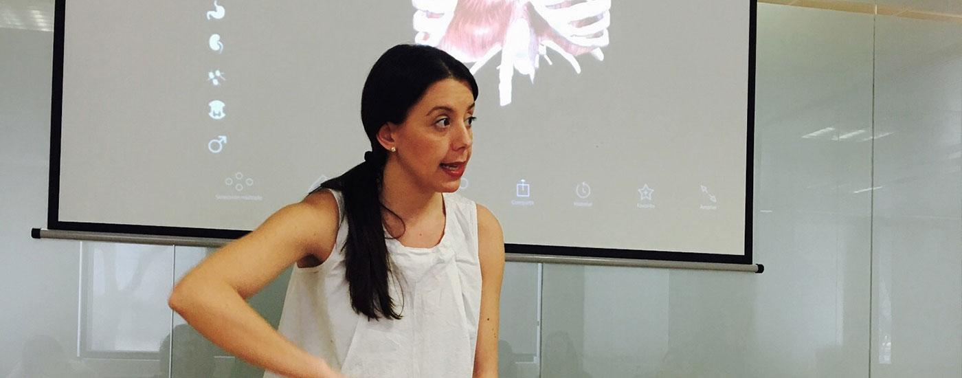 Laura Gómez fisioterapia formación